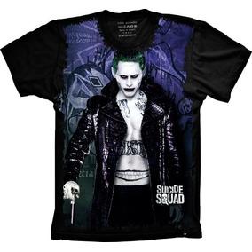Camiseta Feminina Baby Look Esquadrão Suicida Joker S-246 416233cfc2e