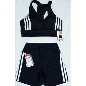 Conjunto Short Adida Feminino - Calçados 0473f594c4070