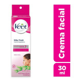 Veet Crema Depilatoria Facial Piel Sensible X 30 Ml