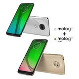 Combo Celular Motorola Moto G7 + Motorola Moto G7 Play