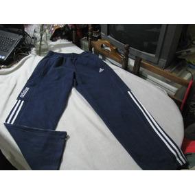 Pantalon De Buzo adidas Color Azul Talla S