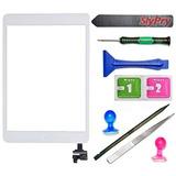 Blanco iPad Mini Pantalla Táctil Digitizador Asamblea Comple