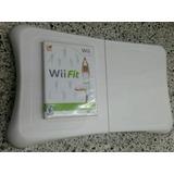 Tabla Wiifit Para Nintendo Wii, Con Su Juego Original