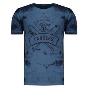 Camiseta New Era Mlb New York Yankees Azul Marinho ffcac1eecdf