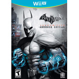 Batman Arkham City Armored Editions Wii U Fisico Nuevo
