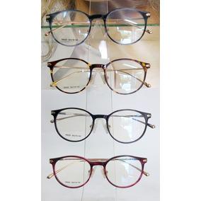 Armações De Grau Feminino Redondo Geek De Metal - Óculos no Mercado ... 09756ec5f9
