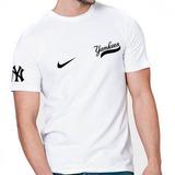 Camisa Beisebol Basebal Mbl Yankees Dodgers Tigers Chicago