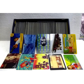 Coleçâo Cartões Telefônicos Cards Lote 779 Peças
