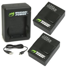 Cargador Wasabi Power Para Gopro Hero3 Hero3+ 2 Baterías