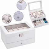 Caja Organizadora Fortressmount Para Relojes Y Joyas, Con