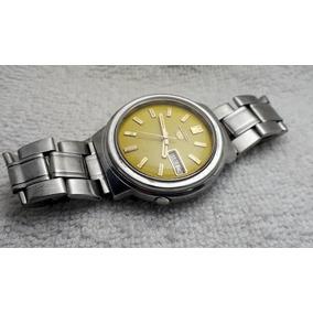7bba207665d Relógio Seiko Visor Amarelo - Relógios no Mercado Livre Brasil