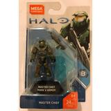 Master Chief Mark V Armor Halo Reach Mega Construx