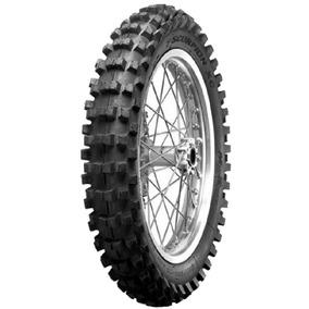 Pneu Moto Pirelli Aro 18 110/100-18 Mx32 Traseiro Scorpion