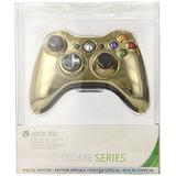Xbox 360 Controlador Inalámbrico - Oro Chrome