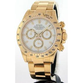 40a34c92bc0 Relógio Rolex Daytona Branco Automático! Replica - Relógios De Pulso ...