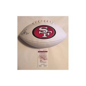 Carlos Hyde Signed Full Size San Francisco 49ers Logo Fútbol 61ea5f3a0dc2b