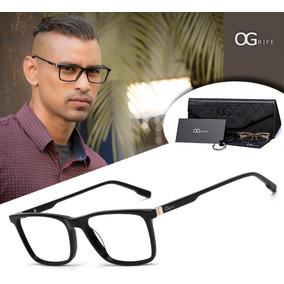 28f7ee483f8c9 Culos Para Lentes De Grau Preto Marca Fato S Armacoes - Óculos no ...