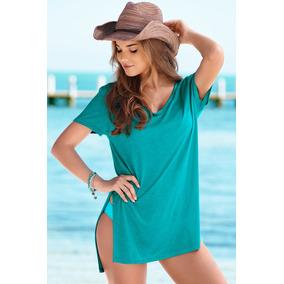 Hermosa Blusa Para Playa, Fresca Y Moderna
