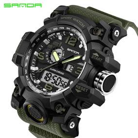 Reloj Tipo Militar Sanda, Envío Gratis - Entrega 1 A 2 Días.