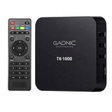 Smart Tv Box Conversor Gadnic Android Nuevo Gtía De Fabrica