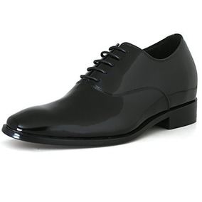 Chamaripa Patente Piel Esmoquin Vestido Encaje Zapatos Ascen