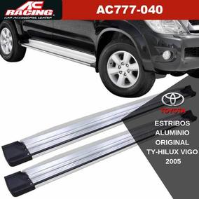 Estribos Ac Racing Aluminio Original Toyota Hilux Vigo 2005