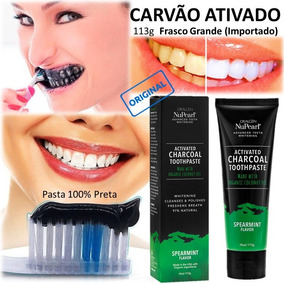Creme Dental Carvao Creme Dental No Mercado Livre Brasil
