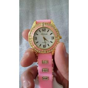 b3ceda54fe9 Relógio Feminino Titulos Original Pulseira Silicone