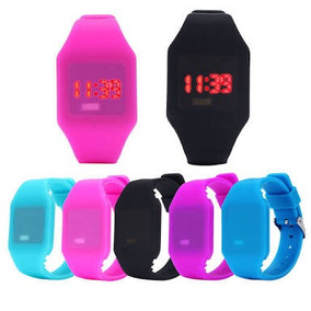Reloj Silicon Led