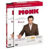Box Original : Monk - 5ª Temporada - Lacrado - 4 Dvds