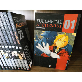 Fullmetal Alchemist Completo Volumes 1 Ao 24