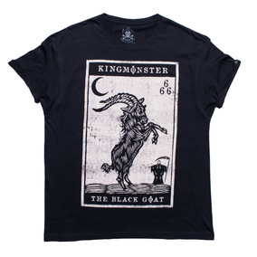 Playera King Monster! Black Goat! Envío Gratis!
