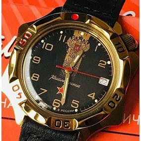 Relógio Militar Russo Vostok Komandirskie 539792 À Corda 30m