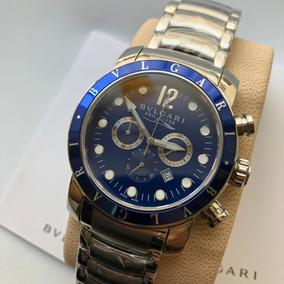 8708de2d453 Relogio Bvlgari Automatico Safira - Relógios De Pulso no Mercado ...