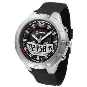 Relógio X Games Masculino Xmspa024 P2px Anadigi Prateado