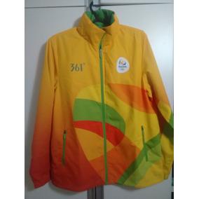 Casaco Olimpiadas Voluntario - Casacos no Mercado Livre Brasil 7e5b732ded60b