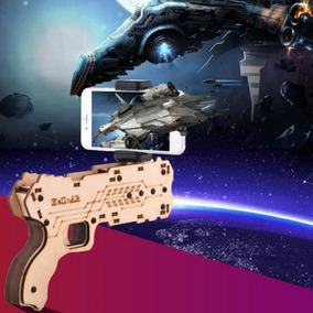 Vr Caja Para Ar Shooting Juego Bluetooth Madera 0pfh