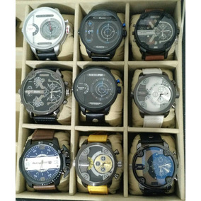 Relógio Masculino De Luxo Estilo Diesel