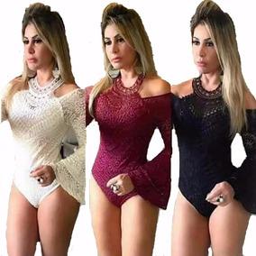 b1ba91785 Body Manga Flare - Camisetas e Blusas Body Feminino no Mercado Livre ...