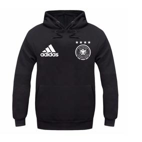 b53000f89b Moletom Alemanha Seleção Futebol Blusa De Frio Agasalho