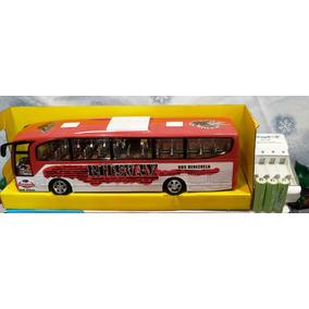 Autobus Juguete Con Cargador Y Pilas Recargables Hapy Time