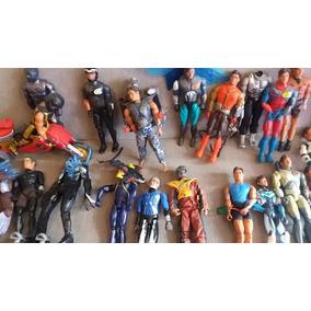 Coleção De Bonecos Max Steel Antigos E Alguns Raros