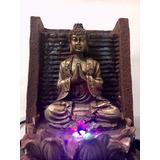 Fuente De Agua Buda Muro Con Luz,feng Shui El Mejor Precio