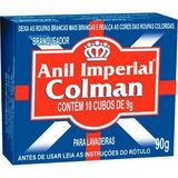 Anil Cubos Colman Branqueador De Roupas 90 Gr