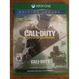 Call Of Duty Infinite Warfare Xbox One 2 En 1!!