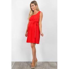 Vestido Embarazo / Maternidad Color Rojo