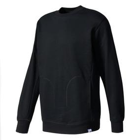 Buzo adidas Crew Xbyo Negro Hombres- Originals