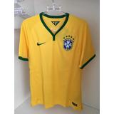 Camisa Brasil Nike Copa 2014 - Futebol no Mercado Livre Brasil 7a6b962215915