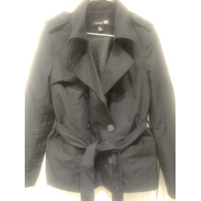 4744fc8bd6e3e Forever 21 Piloto Trench Small Hot Sale Hm Zara