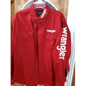 b1b7dffb7b Camisa Wrangler Bordada Hombre en Mercado Libre México